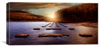 The Monoliths of Ouzeldon, Canvas Print