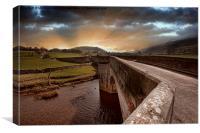 Burnsall Bridge, Canvas Print