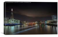 London Sky Line, Canvas Print
