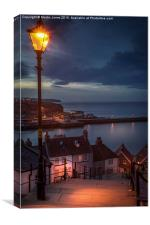 The 199 Steps of Whitby, Canvas Print