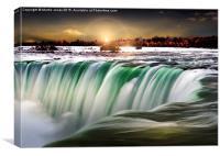 Niagara Glow, Canvas Print