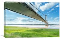 Shadows Across the Humber, Canvas Print
