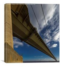 Floating above the Humber, Canvas Print