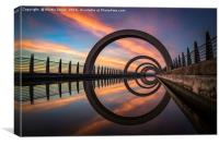 The Falkirk Wheel, Canvas Print