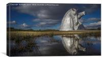Scotland's Kelpies, Canvas Print