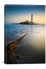 Over the Causeway to St Mary's, Canvas Print