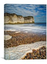 The Chalk Headland of Flamborough, Canvas Print