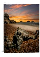 Llanddwyn Magic, Canvas Print