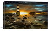 Penmon - Sunset over Puffin Island, Canvas Print