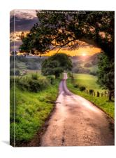 The Road to Kirby Knowle, Canvas Print