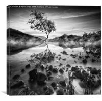 Snowdonian Mists, Canvas Print