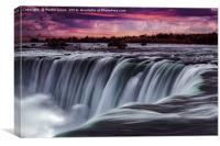 The Horseshoe Falls at Niagara, Canvas Print