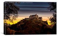 The Castle at Dusk, Canvas Print