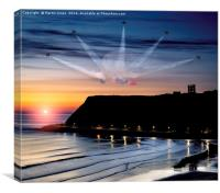 Reds Scarborough Dawn, Canvas Print