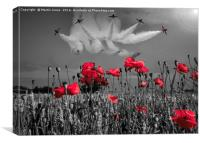 The Reds, Canvas Print