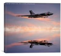 Vulcan Bomber , Canvas Print