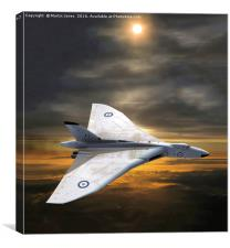 Vulcan Vee Force - Avoiding Armageddon, Canvas Print