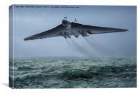 Ultra Low Level Vulcan Flight Practice, Canvas Print