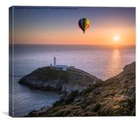 Up Up and Away, Canvas Print