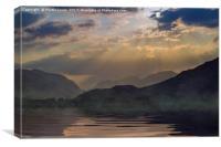 Loch Linhee, Canvas Print