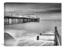 The Victorian Pier, Cromer, Canvas Print