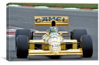 Lotus Type 101T F1 Car, Canvas Print