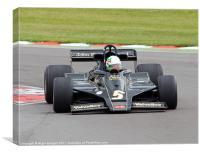 Lotus Type 79 F1 Car, Canvas Print