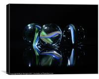 Marbles, Canvas Print