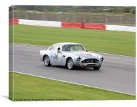 Aston Martin DB4, Canvas Print