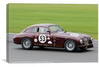 Aston Martin CB2, Canvas Print