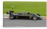 Lotus Type 87, Canvas Print