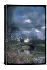 Stony Bridge, Canvas Print