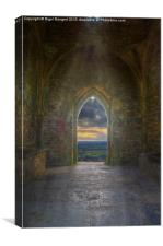 Sunset at St Michael's Tower, Canvas Print