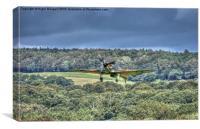 Hawker Hurricane Mk IIc LF363, Canvas Print