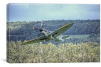 Supermarine Spitfire LF Mk XVIe TD248, Canvas Print