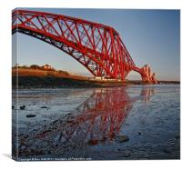 Reflect the Forth, Canvas Print