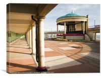 The Bandstand Awaits, Canvas Print