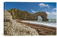 Durdle Door Durasic Coast, Canvas Print