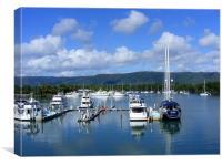 Harbour at Port Douglas, Queensland, Canvas Print