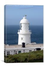 Pendeen Watch Lighthouse, Canvas Print