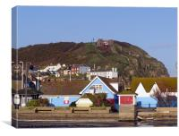 Hastings Funicular Railway East Hill, Canvas Print