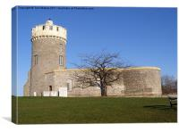 Clifton Observatory, Clifton Down, Bristol, Canvas Print