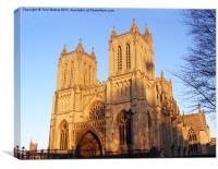 Bristol Cathedral, Canvas Print