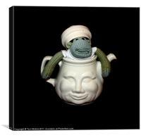 Monkey in a Tea Pot, Canvas Print