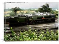 Steam Train Bodmin at Ropley, Canvas Print
