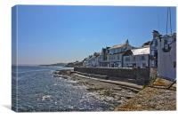 St Mawes a very Cornish Place, Canvas Print