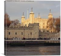 Iconic Tower of London, Canvas Print