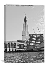 The Shard & London Bridge Hospital, Canvas Print