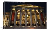 The National Gallery Trafalgar Square, Canvas Print