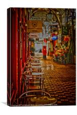 Oxford Covered Market, Canvas Print